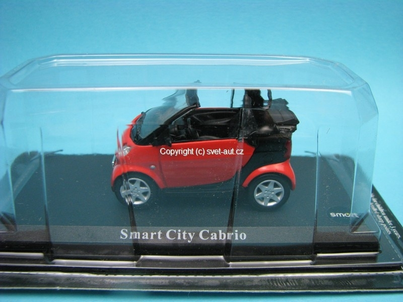 Smart City Cabrio red 1:43 del Prado